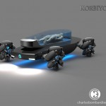 Korbiyor Futuristic Driverless Electric Hearse Celebrates The Life of Your Deceased Loved One