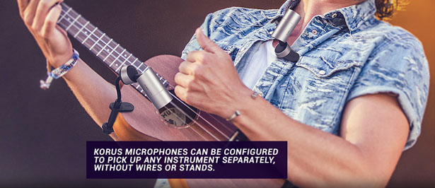 KORUS Wireless Modular Microphones by Joe Miller and DCA Design