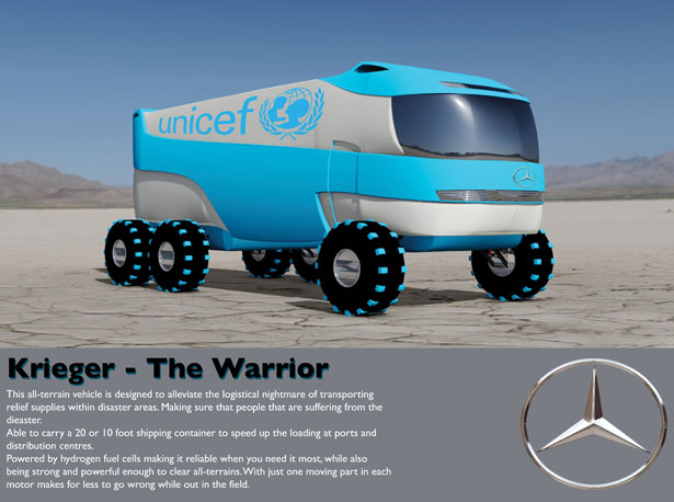 Krieger All-Terrain Vehicle by Nicholas Evans