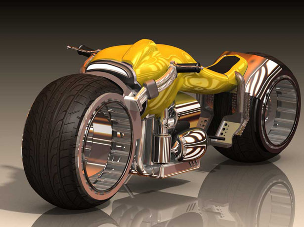 KruzoR motorcycle by Chris Stiles