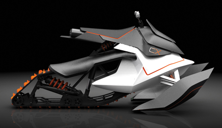 KTM CX Racing Vehicle Concept Brings Moto-X Spirit To The Water