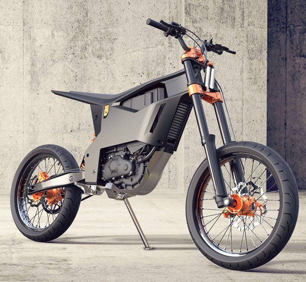 Ktm Delta Electric Motorcycle For Hipsters Just Like