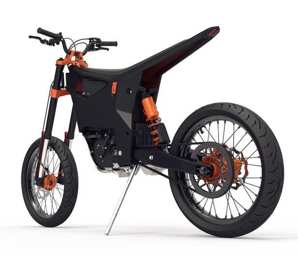 KTM Delta by Benjamin Loinger  sc 1 st  Tuvie & KTM Delta : Electric Motorcycle for Hipsters Just Like Riding a ...