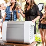 Kube Bluetooth Speaker with Cooler Storage for Your Summer/Pool Party
