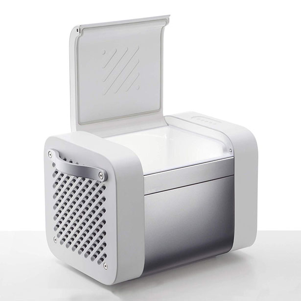 Kube Bluetooth Speaker Cooler Storageby Thomas & Darden