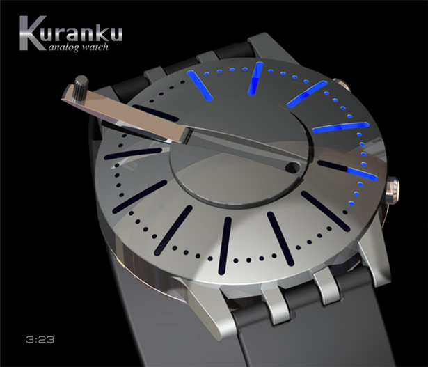 Kuranku Concept Watch by Patrick for Tokyoflash