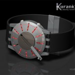 Kuranku Concept Watch with Crank to Light Up The LEDs