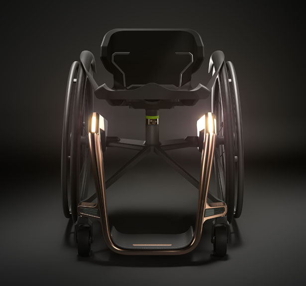 Kuschall Superstar Lightweight Wheelchair Made from Graphene