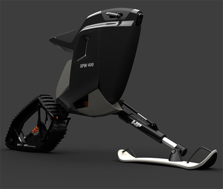 kvant snow bike
