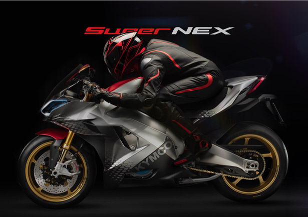 KYMCO SuperNEX Electric Supersport Motorcycle