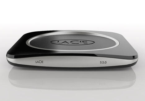 Lacie S2.0 External Hard Drive Design