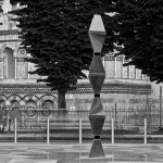 "LaFenice Sculpture for ""Piazza della Memoria"" by Architecture and Vision"
