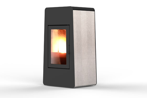 LAM Pellet Stove by Emo Design for MCZ Group