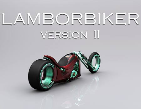 Lamborbiker Version II by Flavio Adriani