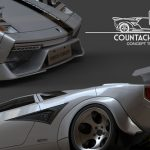 Flavio Adriani Attempts to Redesign Lamborghini Countach Car