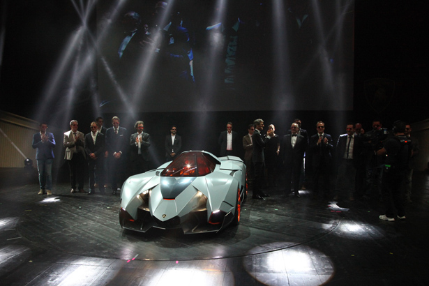 Superbe Lamborghini Egoista Concept Car HOMAGE FOR LAMBORGHINIu0027S 50TH ANNIVERSARY
