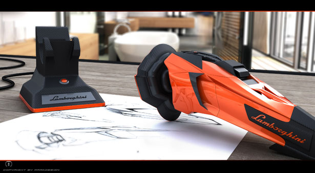 Electric Shaver Concept Is Inspired by Lamborghini Aventador