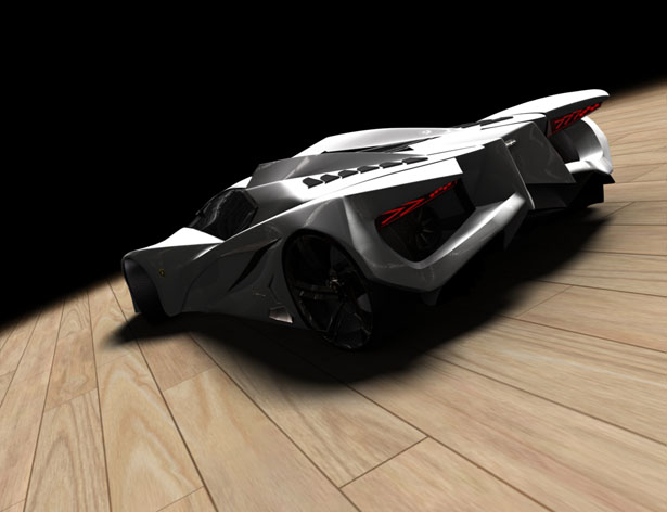 Lamborghini Ferruccio concept by Mark Hostler