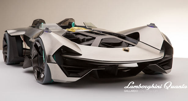 Lamborghini Quanta (LP 1200-4) Design Study by Bruno Gallardo