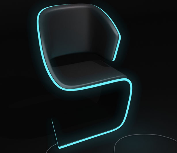 Lamed Chair by Rodolphe Pauloin