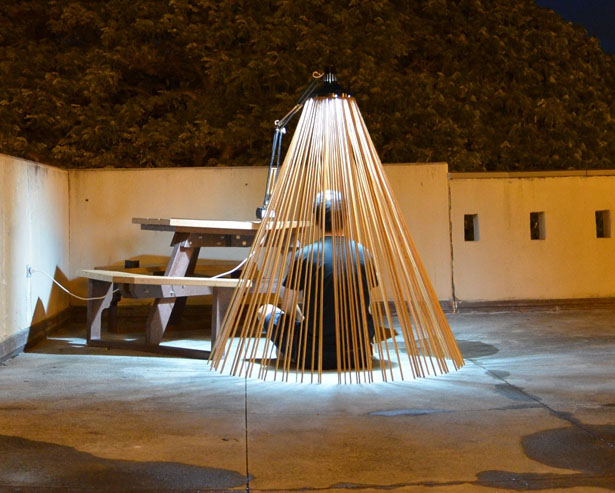 Lamphouse Installation - An Architectural Art Project
