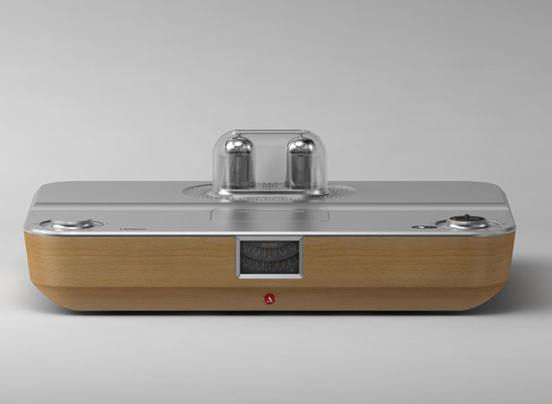 Lampion Hybrid Vacuum Tube Amplifier by Stefan Radev