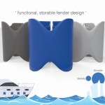 Land Ho Boat Fender Design Features Compact Form for Easy Storage