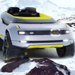 Land Rover Melrakki Off-Road Concept Vehicle to Explore Iceland