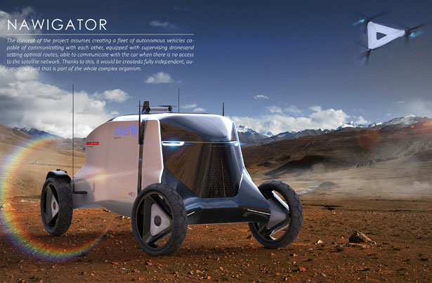 Land Rover Utaric Autonomous Vehicle by Kamil Podolak