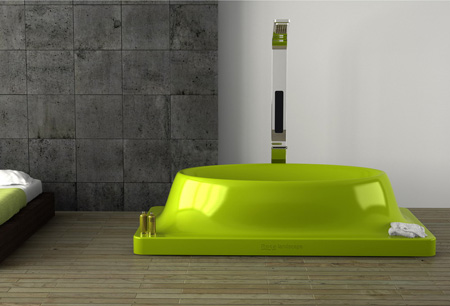 Landscape Bathtub Can Transform Its Shape to Meet Your Needs
