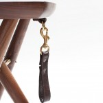 Hand Carved REVISIT and ERICKSON Langhorne Stool Offers Optimal Comfort and Support