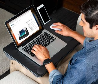 LapGear Home Office Pro Lap Desk for You Who Often Work from Bed