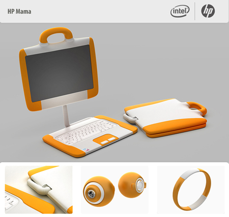 laptop hp mama concept