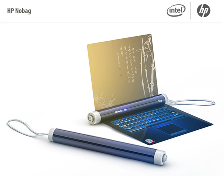 laptop hp nobag concept