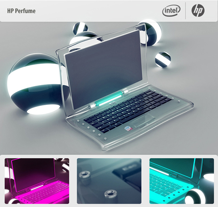 laptop hp perfume concept
