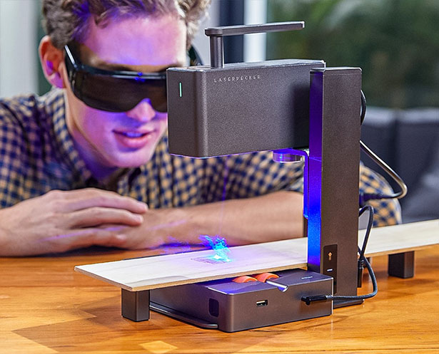 LaserPecker 2 - Portable Laser Engraver and Cutter Is Super Easy-to-Use and Super Fast