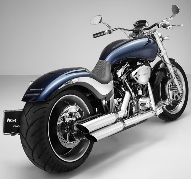 Lauge Jensen Viking Concept Motorcycle by Henrik Fisker
