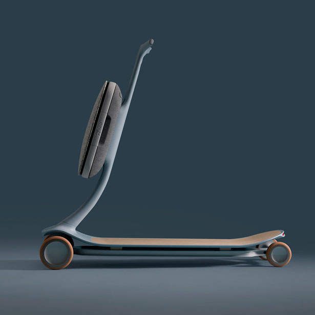 Pal - Modular Personal Transport System by Layer Design