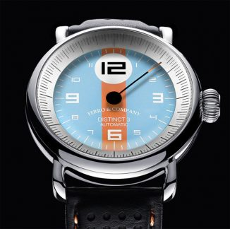 Ferro & Co. Distinct 3 Vintage Racing Style Watch Series Inspired by 24 Hours of Le Mans Sports Car Race