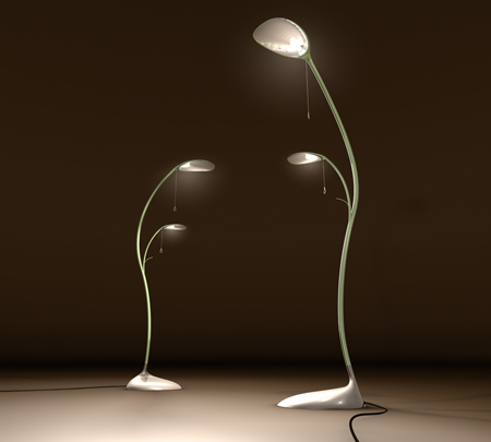 """Leaf Lamp"" is Inspired by Mother Nature"