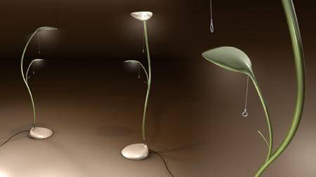 """leaf lamp - Leaf Lamp"""" Is Inspired By Mother Nature - Tuvie"""