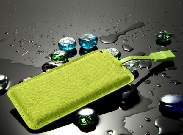 Lean Green Portable Power Machine – Ultra Thin External Battery Keeps Your Gadgets Going Longer