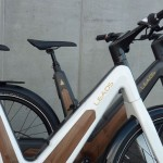 LEAOS Carbon Urban Design E-Bike with Full Integrated Solar Panel