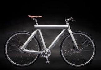 Leaos Electric Pressed Bike Features Two Pressed Halves Frame Design