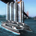 Leap to Zero Greenline Ferry for Eco-Tourism at America's Cup in San Francisco Bay