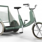 Lecomotion Nested Urban E-trike With In-Crank Generator and In-Wheel Motor