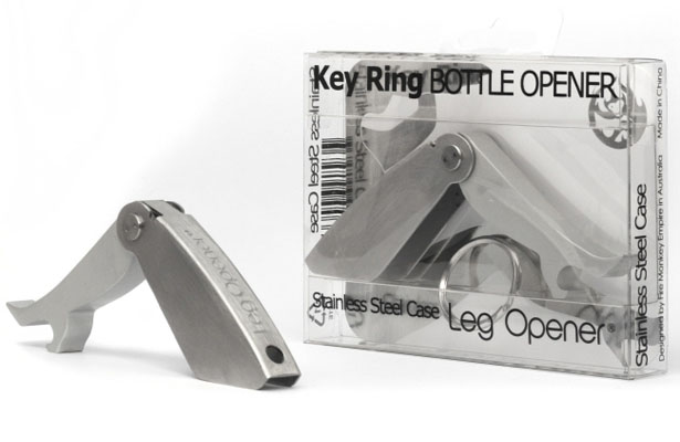 Leg Opener Is The Sexiest Stainless Steel Bottle Opener