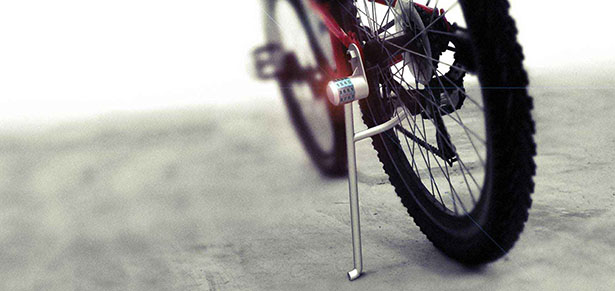 Leglock - Bike Kickstand with Lock by Anurag Sarda