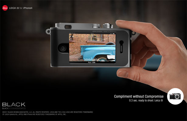 Leica i9 Concept for iPhone4