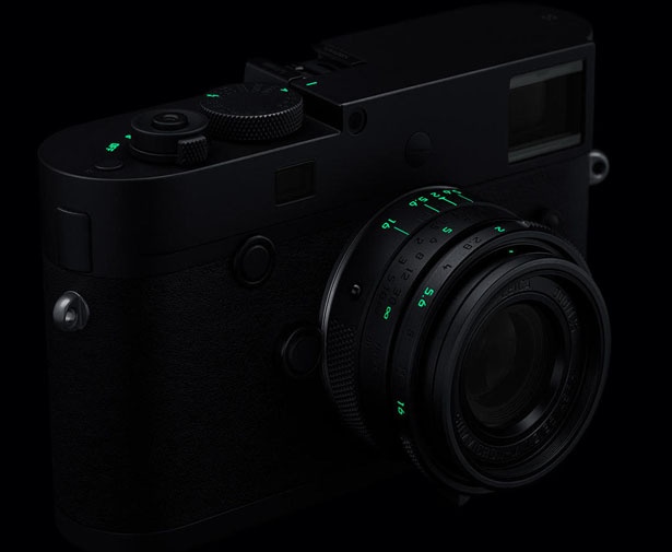 Leica M Monochrom 'Stealth Edition' Camera by Marcus Wainwright